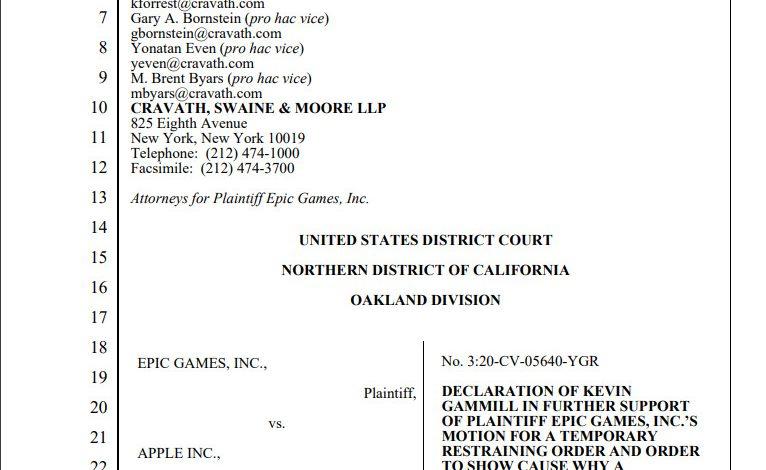 Microsoft、AppleおよびEpic Gamesの対立について、開発者とプレイヤーの保護の観点から、Epicのかよ。 連邦地裁に声明を提出